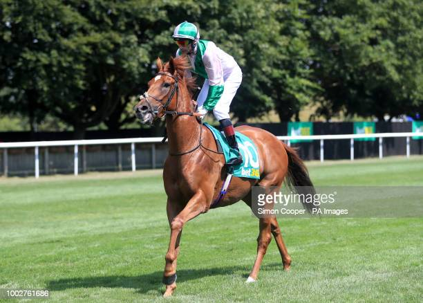 Desert Doctor ridden by Gerald Mosse goes to post