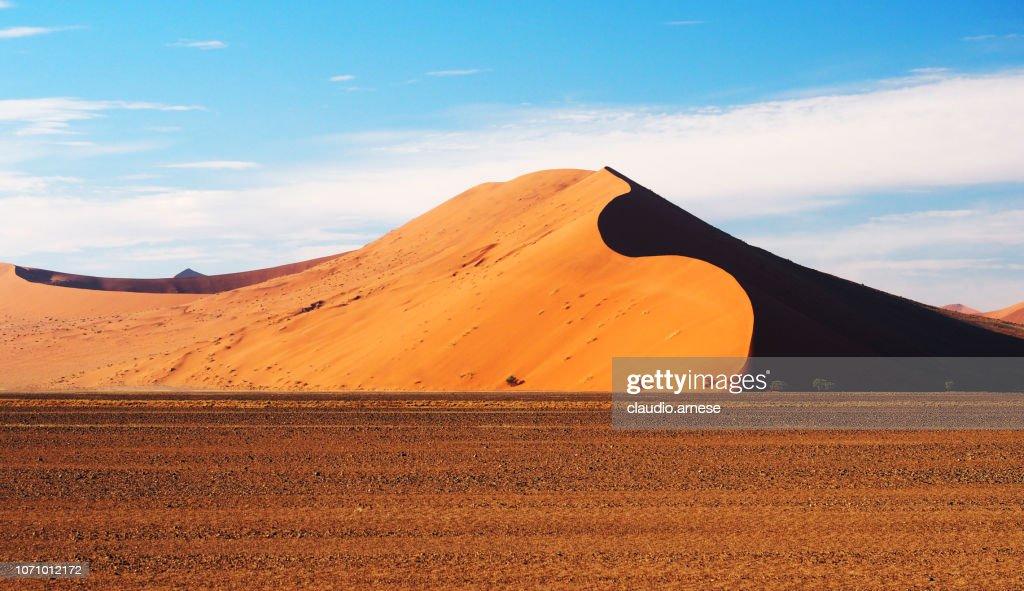 砂漠の砂丘 : ストックフォト