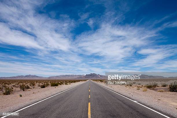Desert Highway, Beatty, Nevada