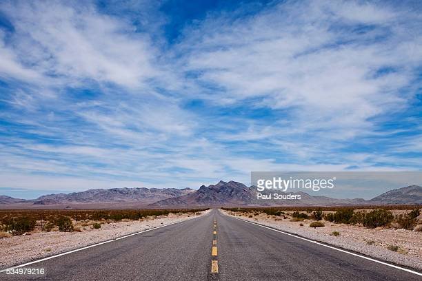 Desert Highway in Nevada