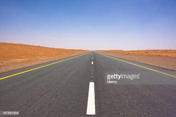 Desert Highway to the Horizon