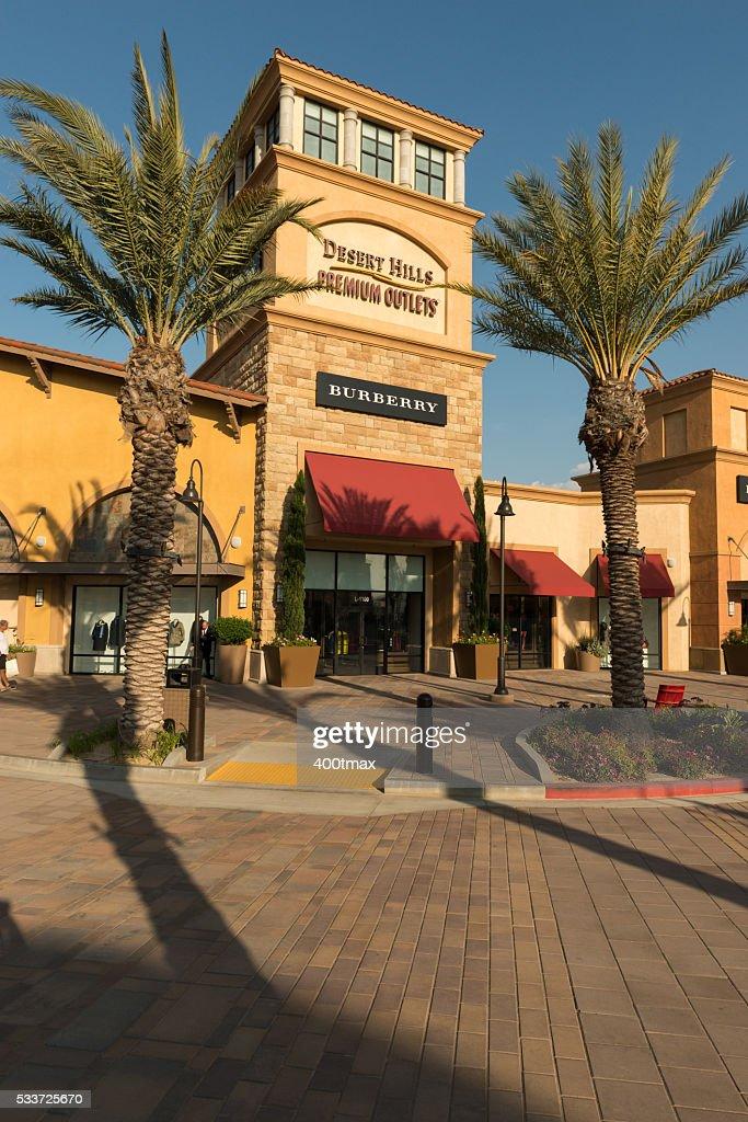 Desert Hills Premium Outlets : Foto stock