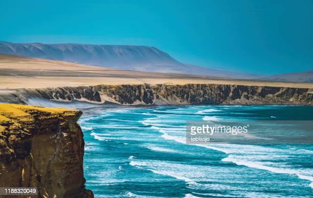 desierto en perú - paisajes de peru fotografías e imágenes de stock