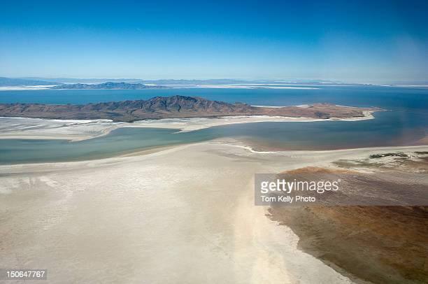 desert lake - great salt lake stock pictures, royalty-free photos & images