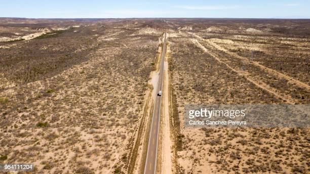 desert landscape in mexico - peninsula stock pictures, royalty-free photos & images