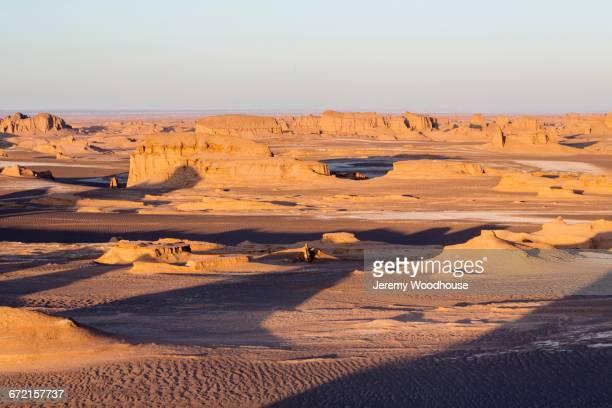 Desert landscape, Kalutes, Kalute Region, Iran
