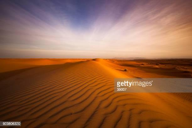 woestijn landschap oman