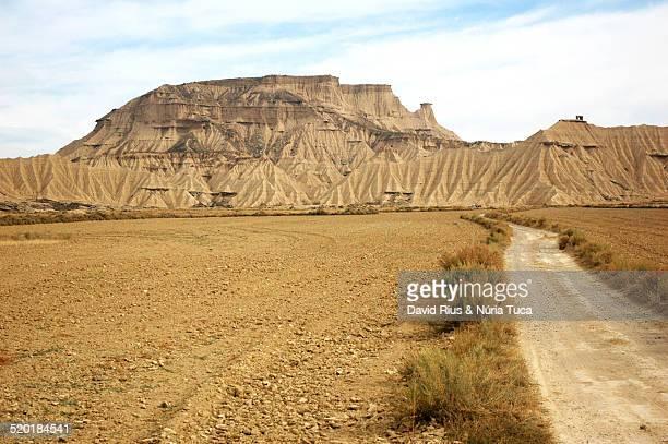 desert landscape - strada di campagna foto e immagini stock