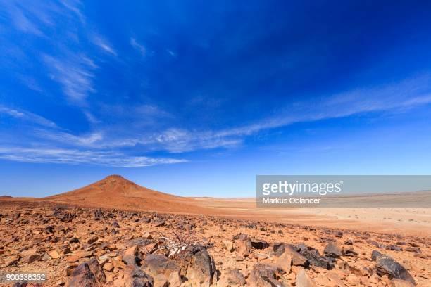Desert landscape south of the Hoanib dry river, Damaraland, region Kunene, Namibia
