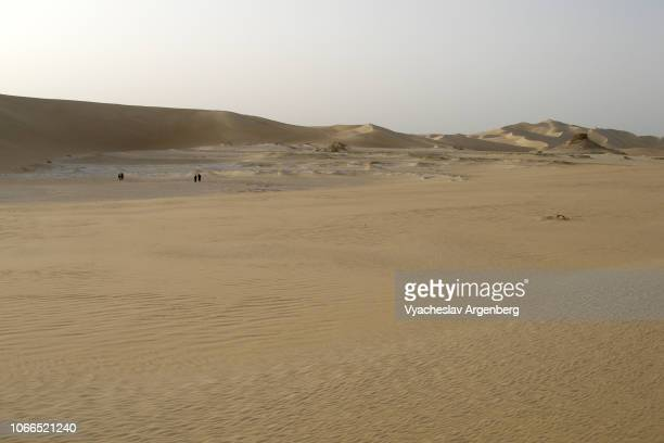 desert landscape, western desert, sahara, egypt-libya border - argenberg stock pictures, royalty-free photos & images
