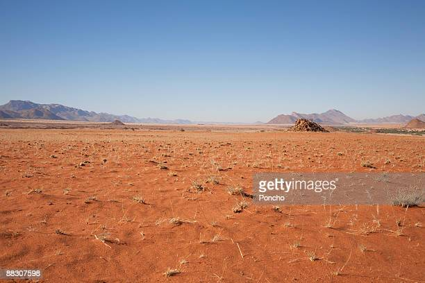 Desert landscape with mountains, Hartmann Valley, Namibia, Africa