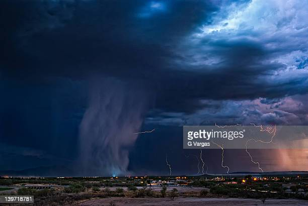 desert monsoon - monsoon stock pictures, royalty-free photos & images