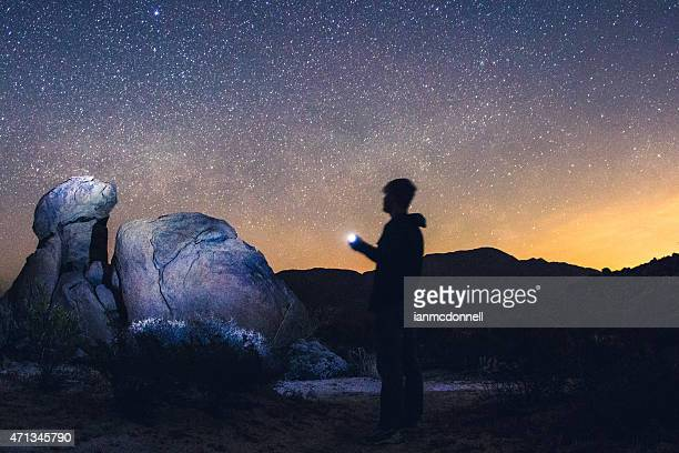 desert night - anza borrego desert state park stock pictures, royalty-free photos & images