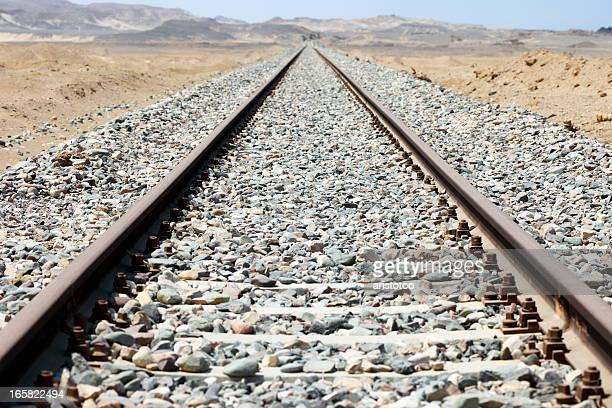 Desert Railroad Track