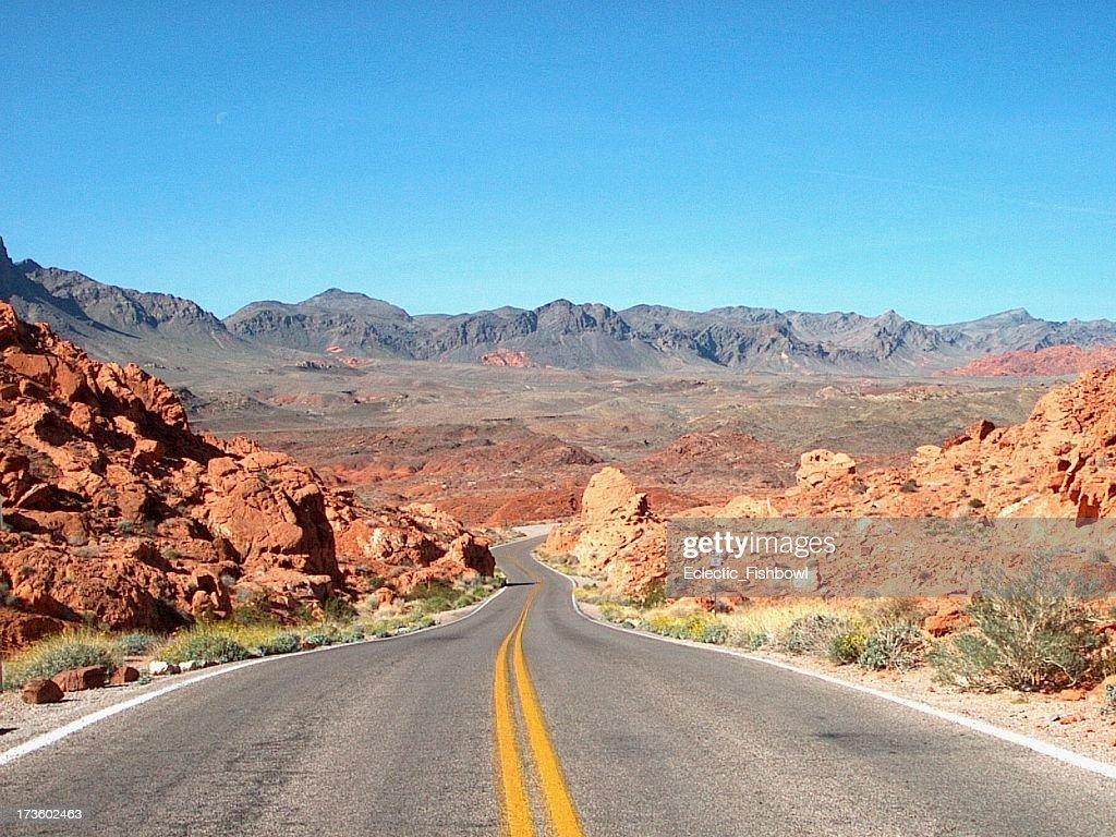 Desert Road - 6 : Stock Photo
