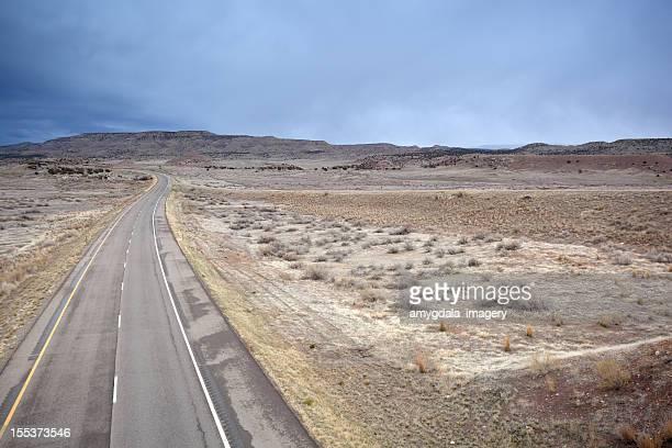 desert road trip landscape