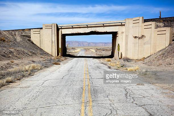 desert road trip landscape - bad condition stock pictures, royalty-free photos & images