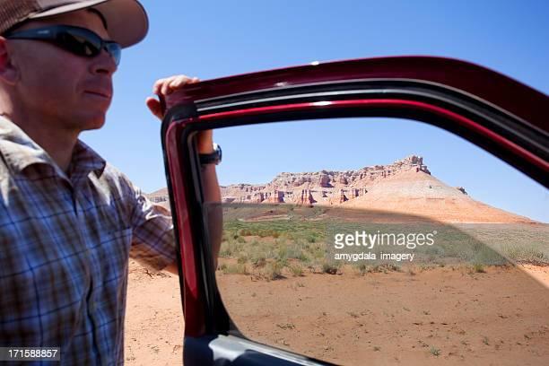 Paysage de désert voyage