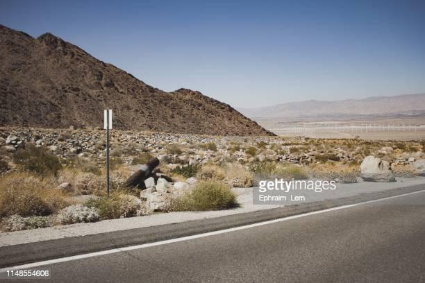 desert roads - ephraim lem stock pictures, royalty-free photos & images