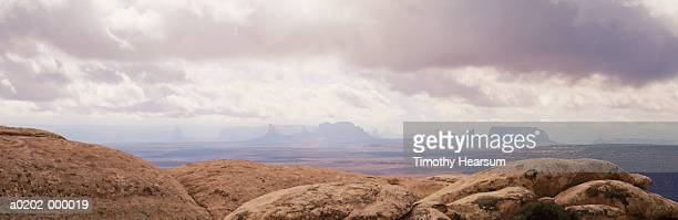 desert rocks and plains - timothy hearsum stock photos and pictures