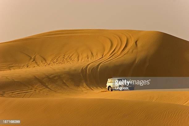 safari dans le désert landcruiser