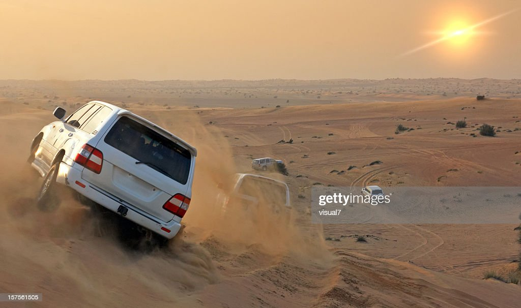 Desert safari : Stock Photo