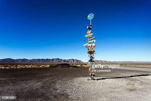 Desert Signpost