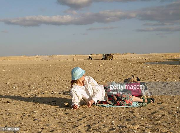 desert solitude - tourism in south sinai stock pictures, royalty-free photos & images