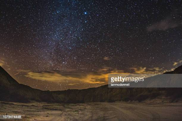desert stars - anza borrego desert state park stock pictures, royalty-free photos & images