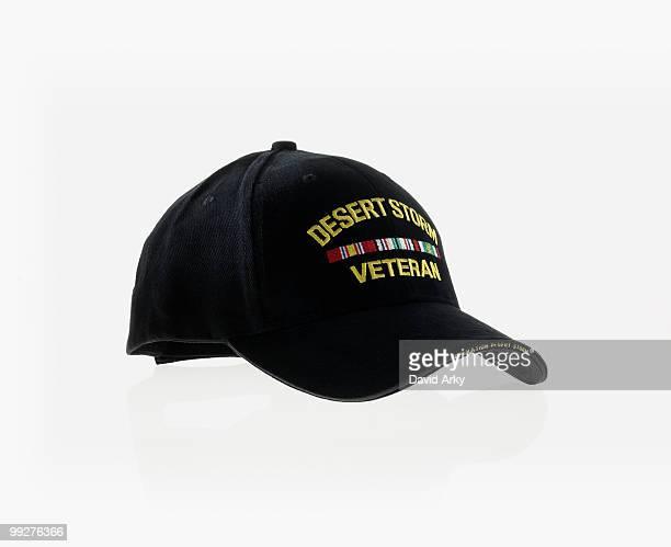 Desert storm veteran's baseball cap