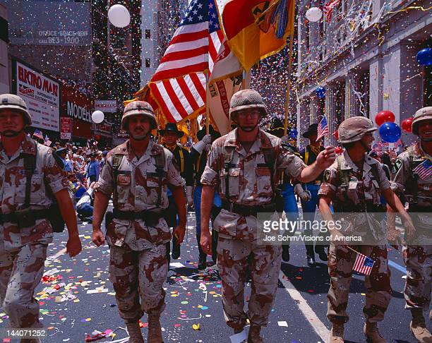 Desert Storm Victory Military Parade Washington DC