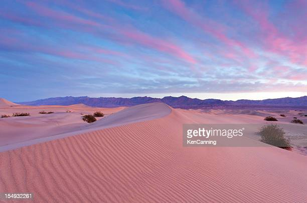 desert sunrise - magenta stock pictures, royalty-free photos & images