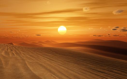 desert sunset 1134202898