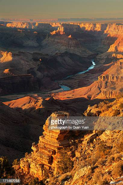 desert view sunset - quan yuan stock pictures, royalty-free photos & images