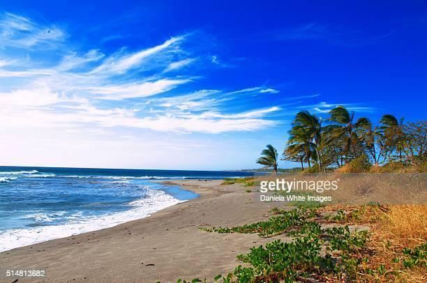 Deserted beaches in the Nicoya Peninsula
