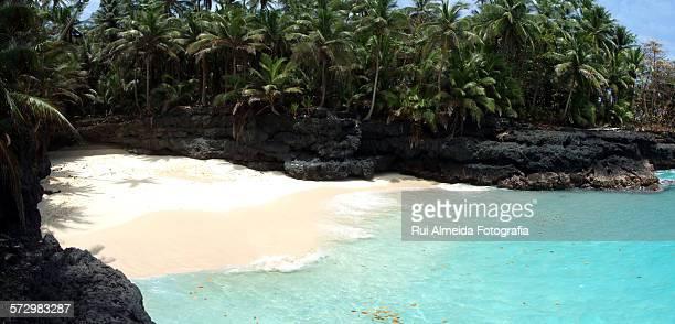 Deserted beautiful beach