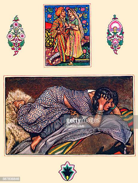 Hillside camp poem from The Garden of Kama and other love lyrics from India by Laurence Hope First published 1901 Illustrated by Byam Shaw b November...