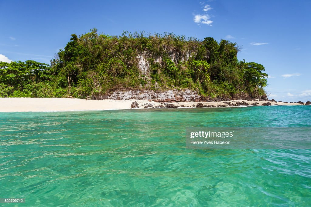 Deserted island : Stock Photo