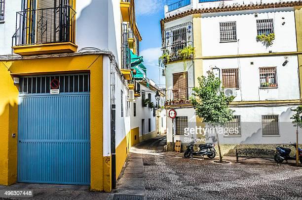 Deserted neighborhood in Spain