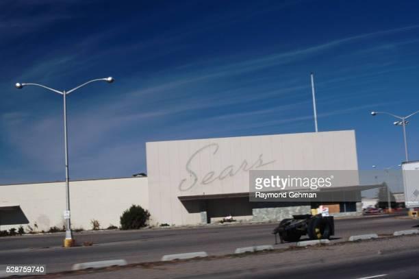 Deserted Shopping Center