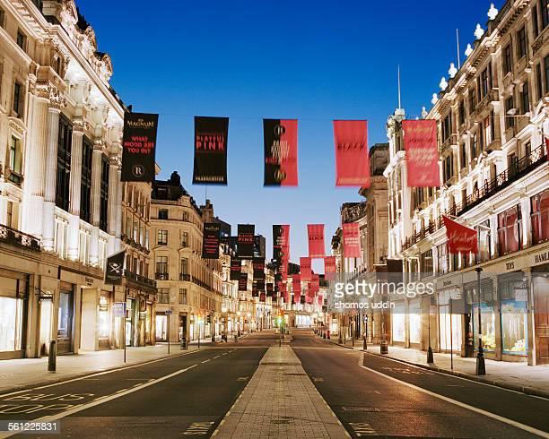 deserted street of london - west end london stock pictures, royalty-free photos & images