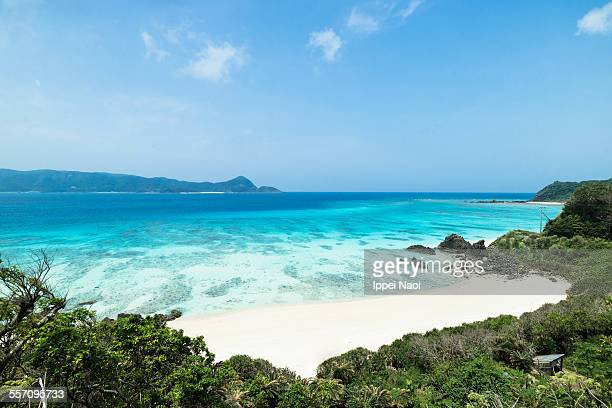 Deserted tropical beach, Amami Oshima, Japan