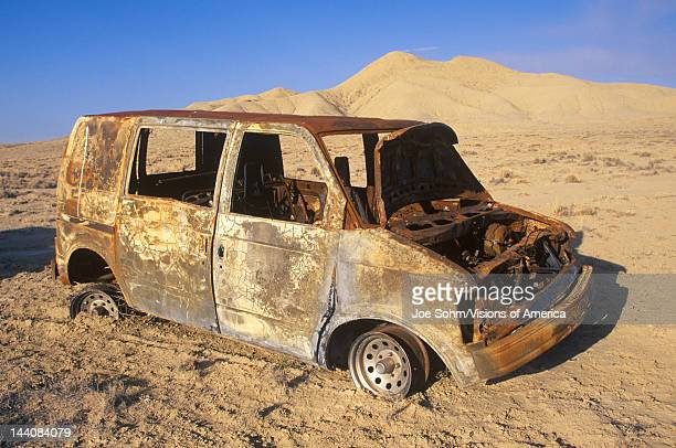 A deserted truck in Shiprock New Mexico
