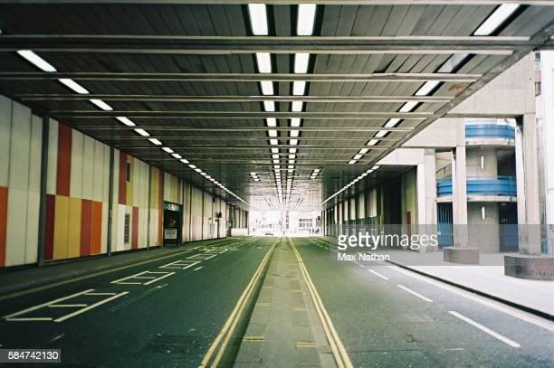 Deserted underpass/tunnel, Barbican, East London