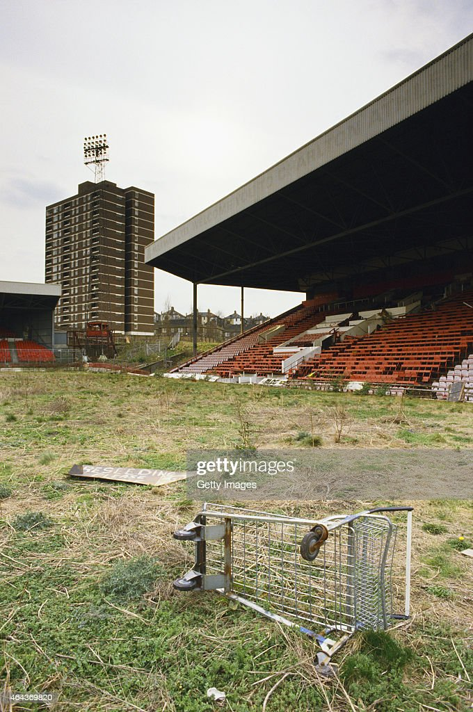 Charlton Athletic Football Ground 1988 : Foto jornalística