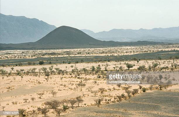 Desertscape Niger Sahelian Landscape SemiArid Land Prone To Drought And Erosion The Name Is Derived From The Arabic Word For Shore