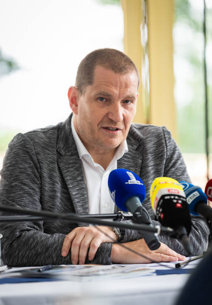 DEU: DESG - Press Conference with Matthias Grosse