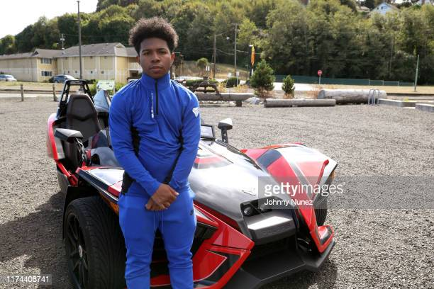 Deshae Frost attends the Starstudded Adventure Ride hosted by Polaris Slingshot And RZR on September 12 2019 in Tenmile Oregon