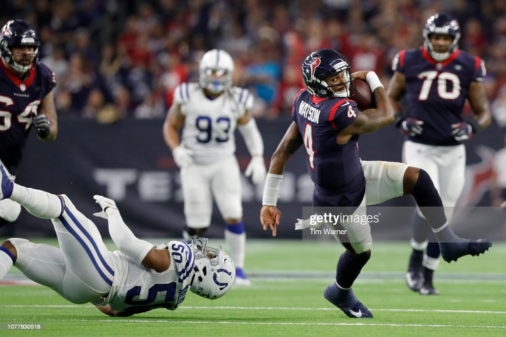 Wild Card Round - Houston Texans v Indianapolis Colts : Nachrichtenfoto