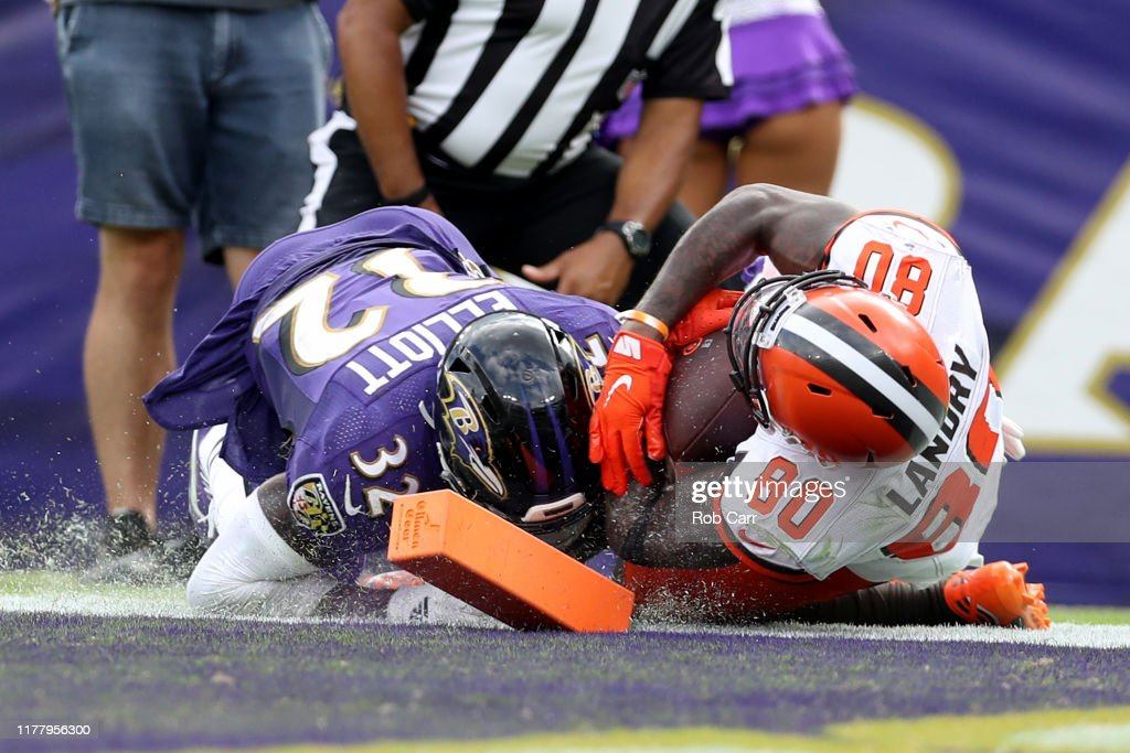 Cleveland Browns v Baltimore Ravens : ニュース写真